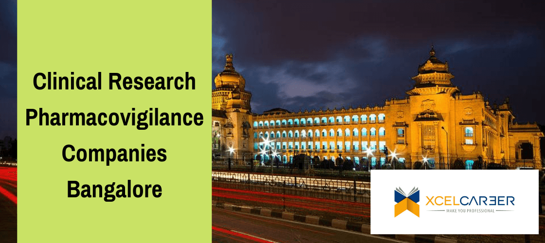 List of Clinical Research & Pharmacovigilance Companies in Bangalore